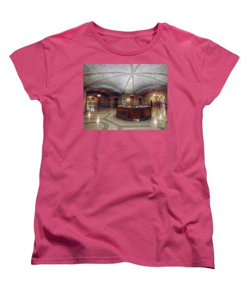 Info Desk Women's T-Shirt (Standard Cut) by Art Whitton
