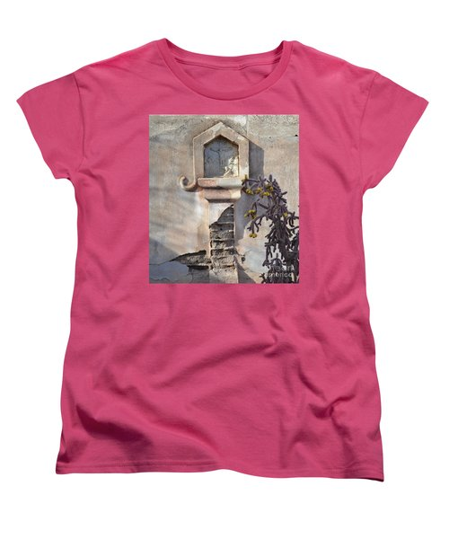 Women's T-Shirt (Standard Cut) featuring the photograph Jesus Image by Rebecca Margraf