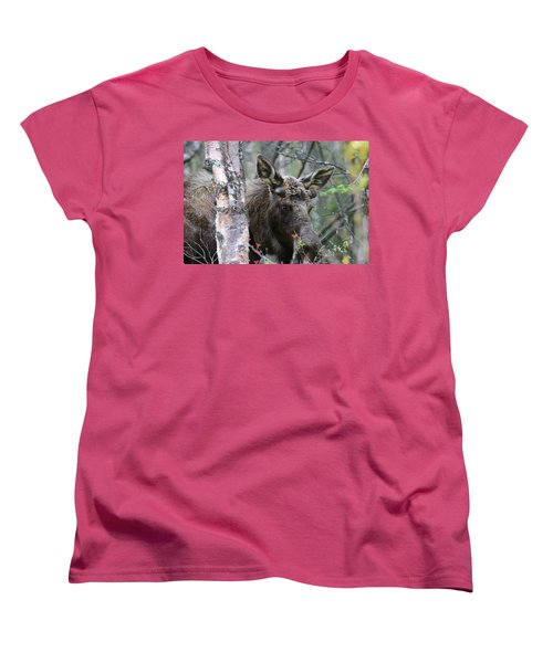 Women's T-Shirt (Standard Cut) featuring the photograph Just A Start by Doug Lloyd
