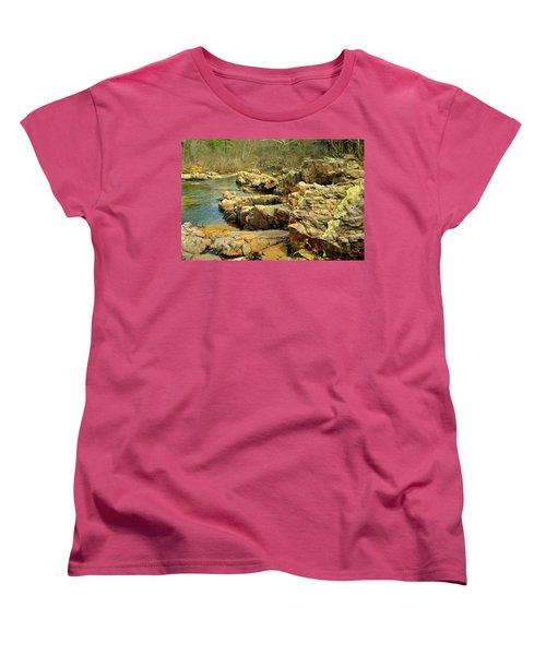 Women's T-Shirt (Standard Cut) featuring the photograph Klepzig Shut In by Marty Koch