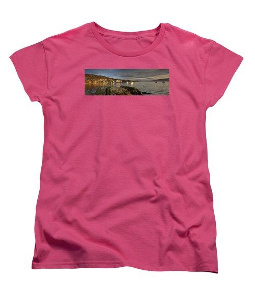 Women's T-Shirt (Standard Cut) featuring the photograph Lake Windermere Ambleside, Cumbria by John Short