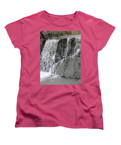 Women's T-Shirt (Standard Cut) featuring the photograph Let It Flow by Tiffany Erdman