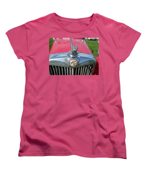 M G Hood 1 Women's T-Shirt (Standard Cut) by Anna Ruzsan
