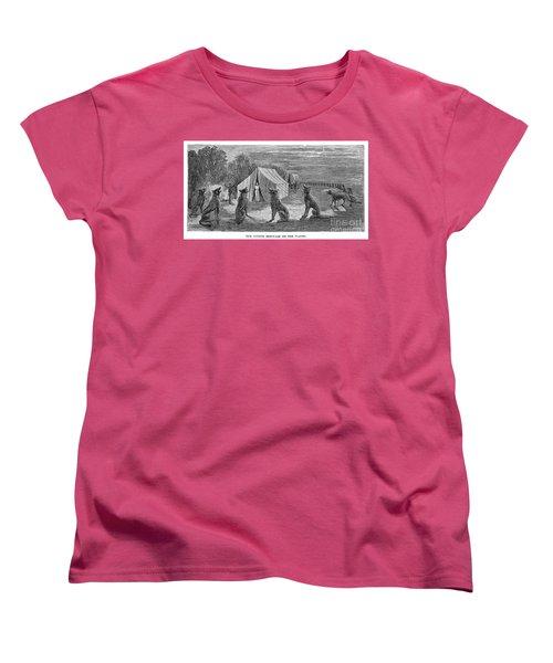 Mango Hummingbird Women's T-Shirt (Standard Cut) by Granger