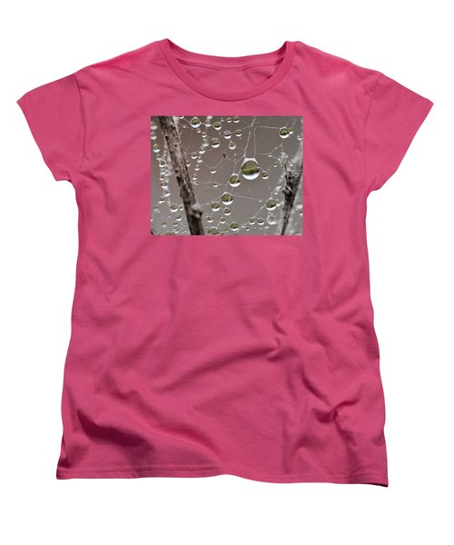 Many Worlds In One Small Space Women's T-Shirt (Standard Cut) by Susan Capuano