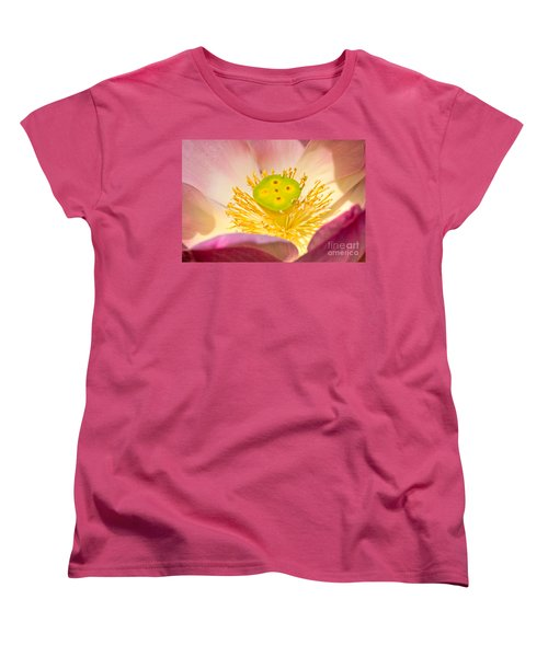 Women's T-Shirt (Standard Cut) featuring the photograph Nature by Luciano Mortula