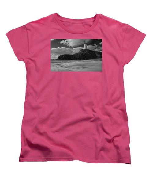 Niwbwrch Lighthouse Women's T-Shirt (Standard Cut) by Beverly Cash