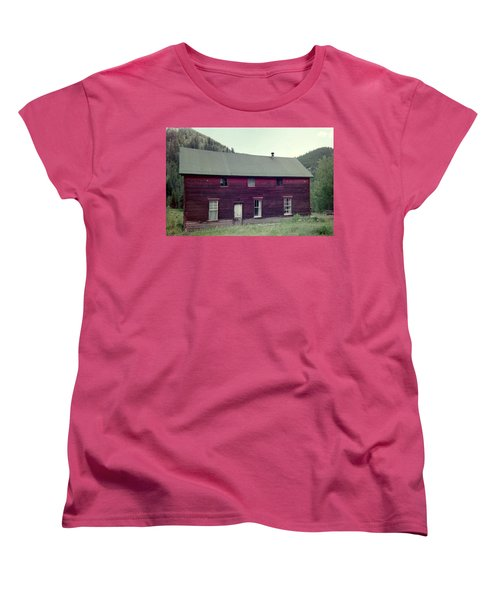 Women's T-Shirt (Standard Cut) featuring the photograph Old Hotel by Bonfire Photography