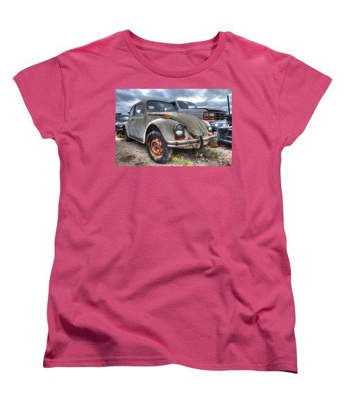 Old Vw Beetle Women's T-Shirt (Standard Cut) by Jonathan Davison