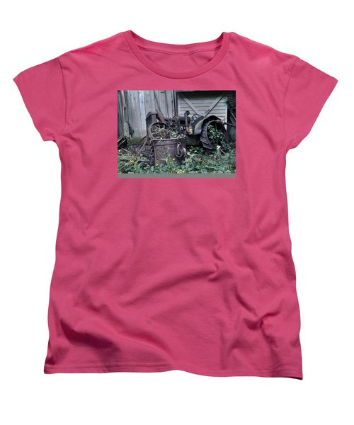Women's T-Shirt (Standard Cut) featuring the photograph Older Days by Janice Spivey
