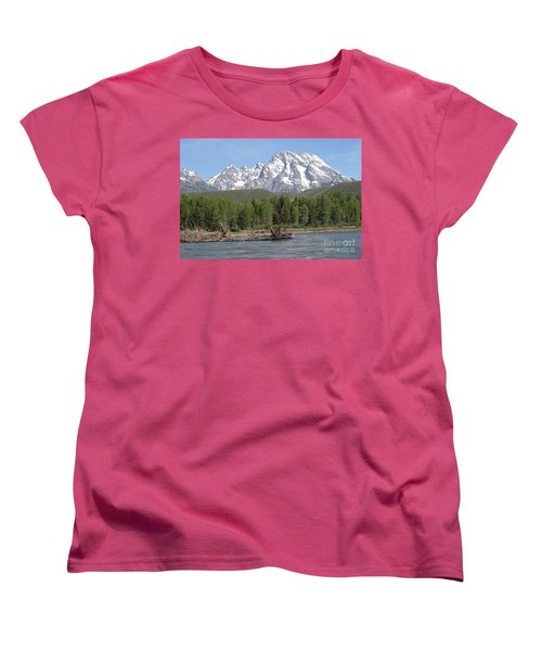 On The Snake River Women's T-Shirt (Standard Cut) by Living Color Photography Lorraine Lynch