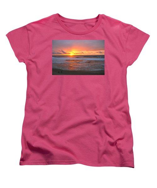 Pacific Sunset Women's T-Shirt (Standard Cut) by Eric Tressler
