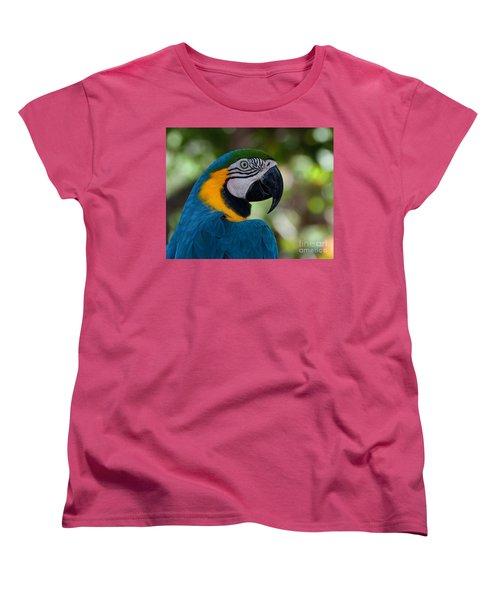 Parrot Head Women's T-Shirt (Standard Cut) by Art Whitton
