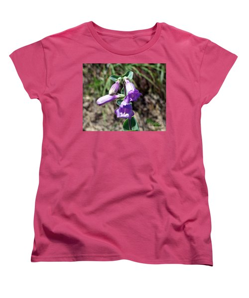 Penstemon Women's T-Shirt (Standard Cut) by Dorrene BrownButterfield
