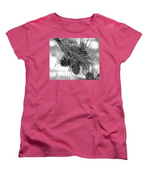 Pine Cones Women's T-Shirt (Standard Cut) by Dorrene BrownButterfield