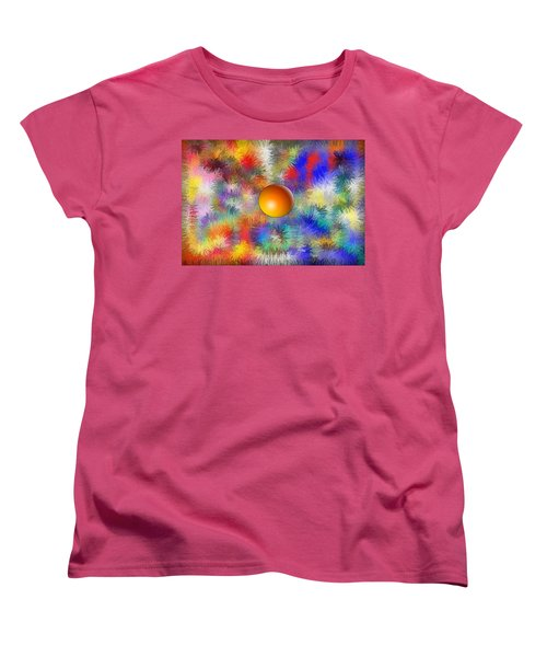 Planet Stand Out Women's T-Shirt (Standard Cut) by Alec Drake