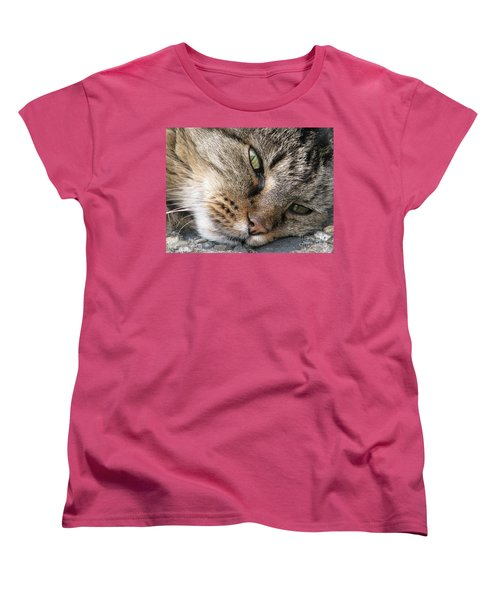 Pondering Women's T-Shirt (Standard Cut) by Rory Sagner
