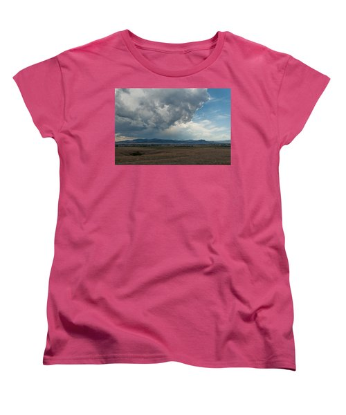 Women's T-Shirt (Standard Cut) featuring the photograph Promises Of Rain by Fran Riley