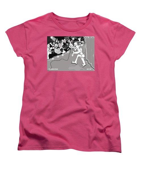 Rebel Without Applause Women's T-Shirt (Standard Cut)