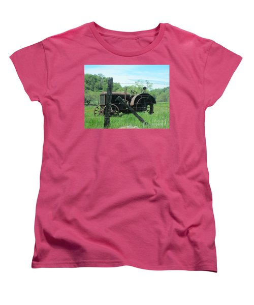 Retired Women's T-Shirt (Standard Cut) by Laurianna Taylor