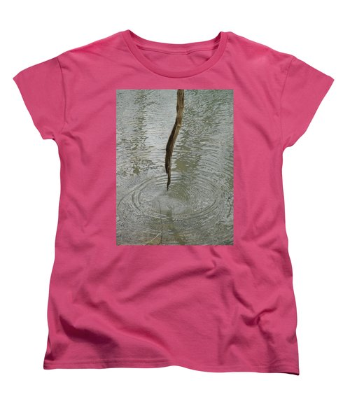 Women's T-Shirt (Standard Cut) featuring the photograph Ripples by Tiffany Erdman