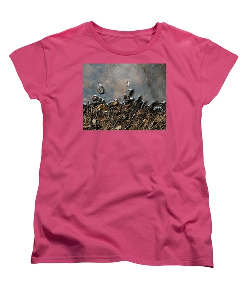 Women's T-Shirt (Standard Cut) featuring the photograph Roots In Water by Kay Lovingood