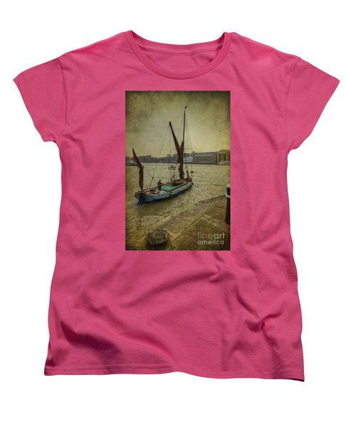 Women's T-Shirt (Standard Cut) featuring the photograph Sailing Away... by Clare Bambers