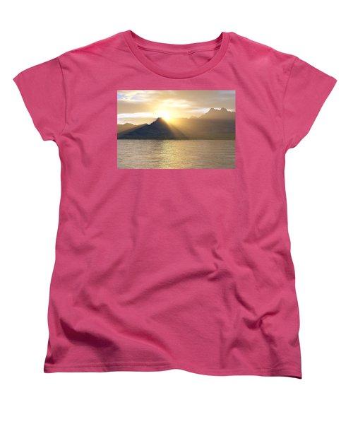 Silver Lake Women's T-Shirt (Standard Cut) by Mark Greenberg