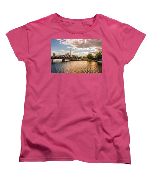 Women's T-Shirt (Standard Cut) featuring the photograph Silver Lake by Tom Gort