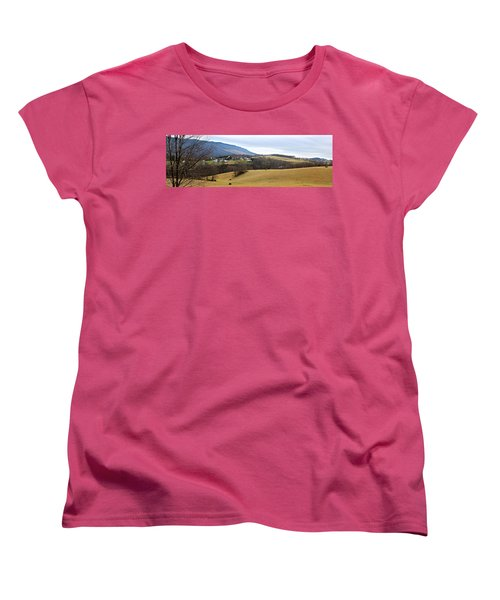 Women's T-Shirt (Standard Cut) featuring the photograph Small Town by Kume Bryant