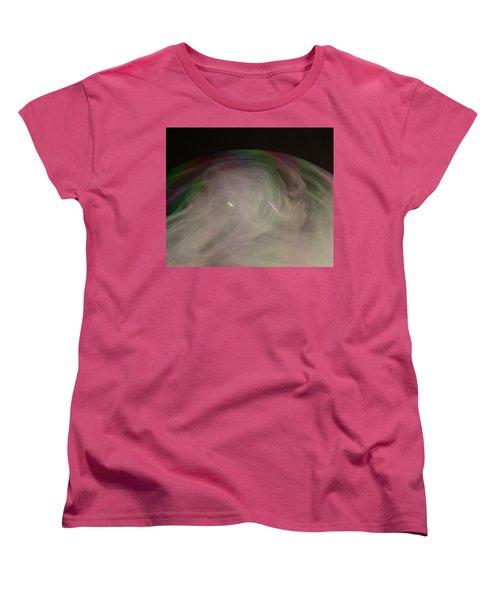 Smoke Bubble Women's T-Shirt (Standard Cut) by Cathie Douglas