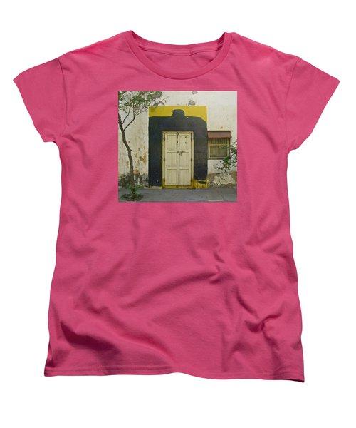 Women's T-Shirt (Standard Cut) featuring the photograph Somebody's Door by David Pantuso