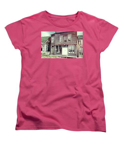 Women's T-Shirt (Standard Cut) featuring the photograph Stark Bros Store by Bonfire Photography