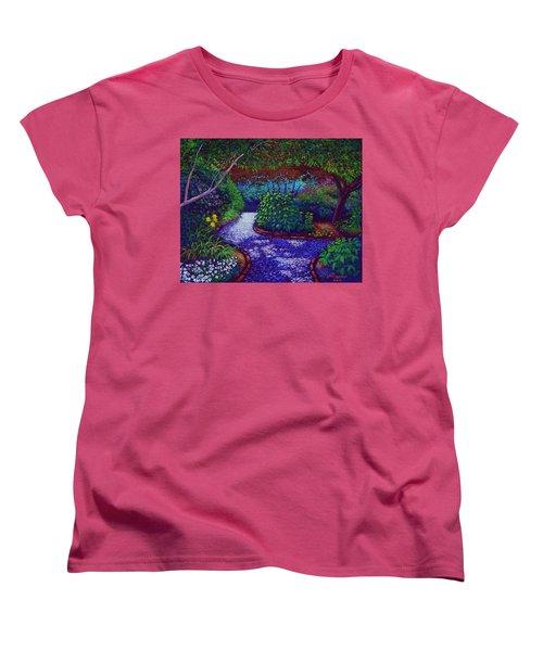 Southern Garden Women's T-Shirt (Standard Cut) by Jeanette Jarmon