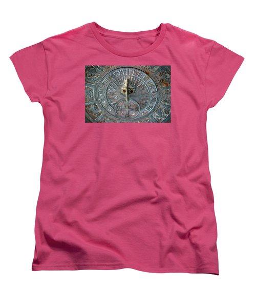 Sundial Women's T-Shirt (Standard Cut) by Henrik Lehnerer