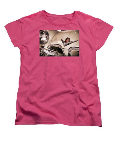 Women's T-Shirt (Standard Cut) featuring the photograph The 1955 Dodge La Femme by Gordon Dean II