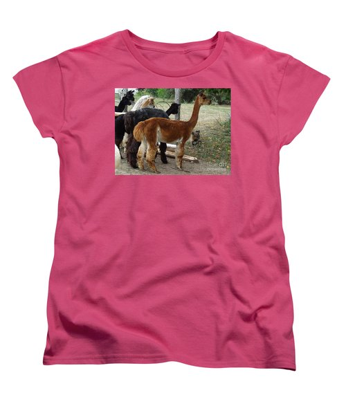 The Cat Came Back Women's T-Shirt (Standard Cut) by Laurel Best