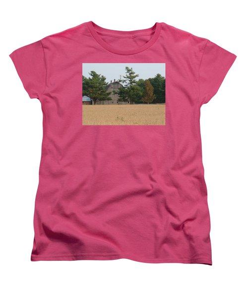 Women's T-Shirt (Standard Cut) featuring the photograph The Farm by Bonfire Photography