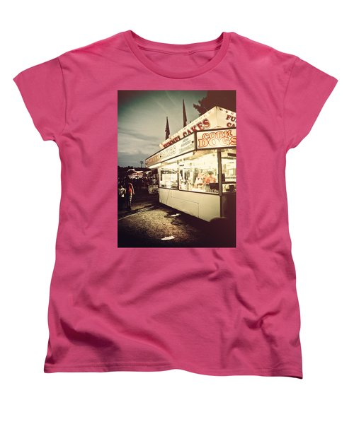 Those Were The Days Women's T-Shirt (Standard Cut) by Jessica Brawley