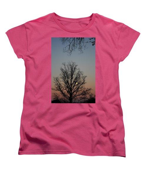 Through The Boughs Portrait Women's T-Shirt (Standard Cut) by Dan Stone