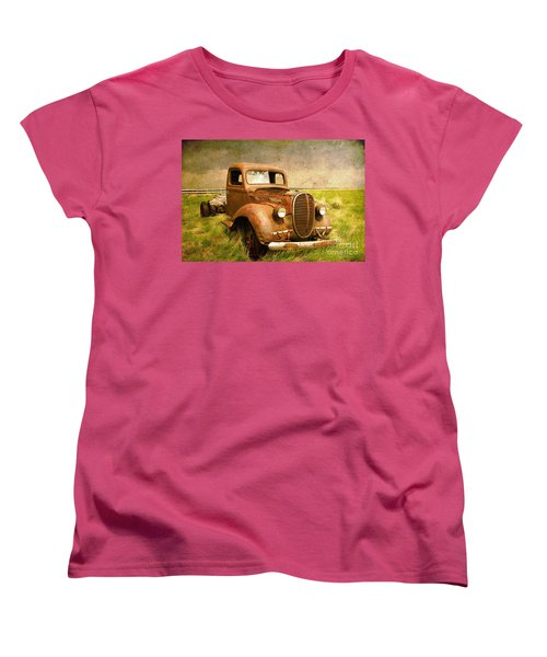 Two Ton Truck Women's T-Shirt (Standard Cut) by Alyce Taylor