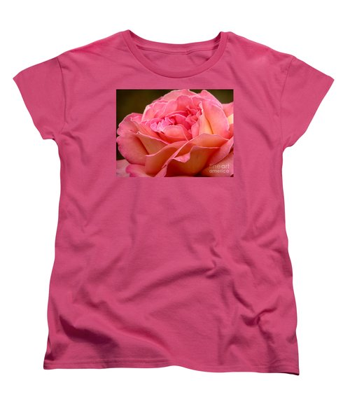 Women's T-Shirt (Standard Cut) featuring the photograph Unfolding by Rory Sagner