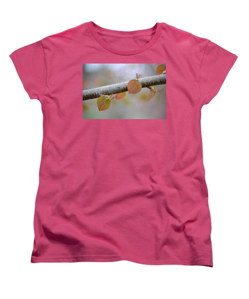 Women's T-Shirt (Standard Cut) featuring the photograph Unfurling Buds In The Heart Of Spring by JD Grimes