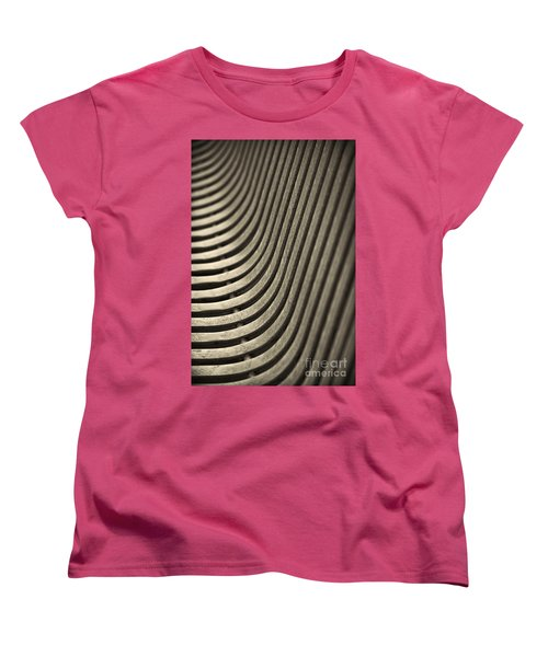 Women's T-Shirt (Standard Cut) featuring the photograph Upward Curve. by Clare Bambers