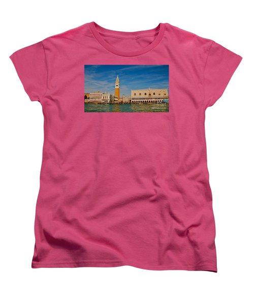 Women's T-Shirt (Standard Cut) featuring the photograph Venice's Front Door by Eric Tressler