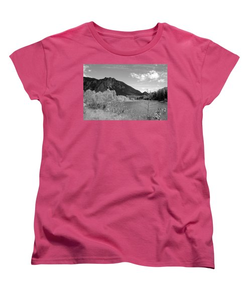 Women's T-Shirt (Standard Cut) featuring the photograph View From The River by Kathleen Grace