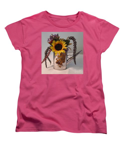 Women's T-Shirt (Standard Cut) featuring the photograph Virgin Olive Oil by Sandy McIntire