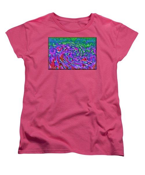 Waterspout Women's T-Shirt (Standard Cut) by Alec Drake