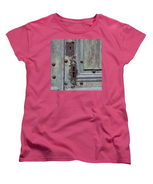 Women's T-Shirt (Standard Cut) featuring the photograph Weathered by Lainie Wrightson