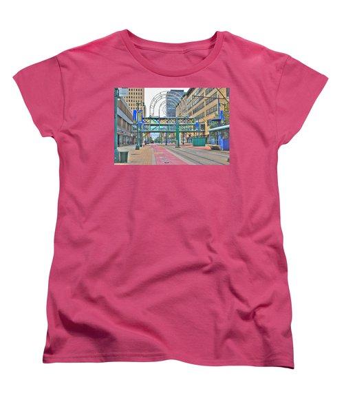 Women's T-Shirt (Standard Cut) featuring the photograph Welcome No 2 by Michael Frank Jr